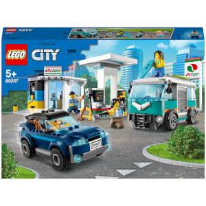 LEGO City: Nitro Wheels Service Station Building Set (60257)