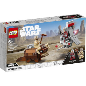 LEGO® Star Wars™: Le combat des Microfighters : T-16 Skyhopper™ contre Bantha™ (75265)