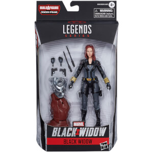 Figura de acción Viuda Negra - Black Widow Marvel Legend Series