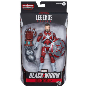 Hasbro Marvel Black Widow Legends Series Red Guardian Action Figure