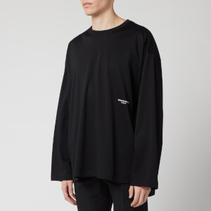 Wooyoungmi Men's Basic Long Sleeve T-Shirt - Black