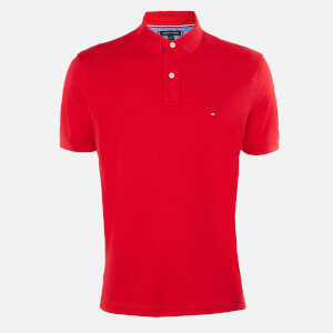 Tommy Hilfiger Men's Regular Polo Shirt - Primary Red
