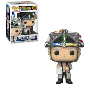 Figura Funko Pop! - Doc Emmett Brown Con Casco - Regreso Al Futuro