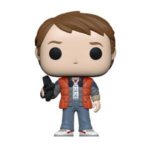 Figurine Pop! Marty En Doudoune - Retour Vers Le Futur