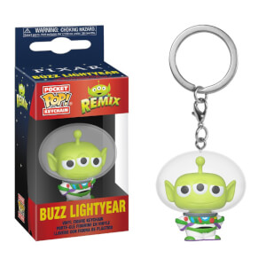 Disney Pixar Anniversary Alien as Buzz Funko Pop! Keychain