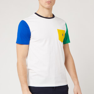 Polo Ralph Lauren Men's T-Shirt - White Multi