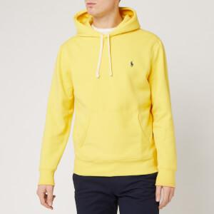 Polo Ralph Lauren Men's Fleece Hoodie - Sunfish Yellow