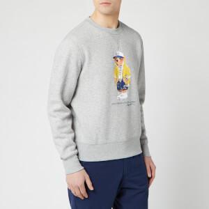 Polo Ralph Lauren Men's Bear Logo Sweatshirt - Andover Heather