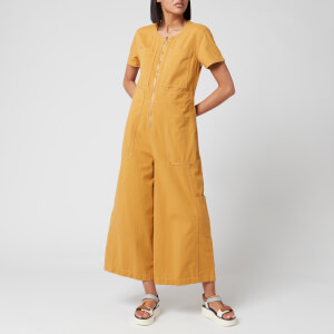 L.F Markey Women's Felix Boilersuit - Saffron