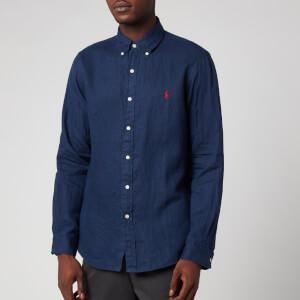 Polo Ralph Lauren Men's Long Sleeve Sport Shirt - Newport Navy