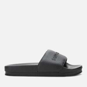 Superdry Women's Arizona Flatform Slide Sandals - Black