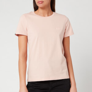 Superdry Women's Ol Elite Crew Neck T-Shirt - Dusty Pink