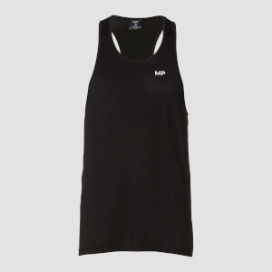 MP Men's Essentials Training Stringer Vest - Black
