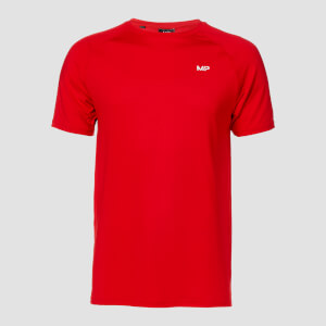 MP Men's Essential Trenings-T-skjorte  – Skarp rød