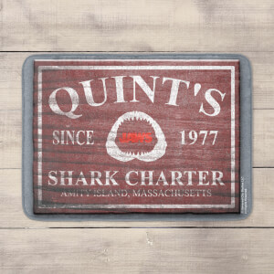 Quints Shark Charter Bath Mat