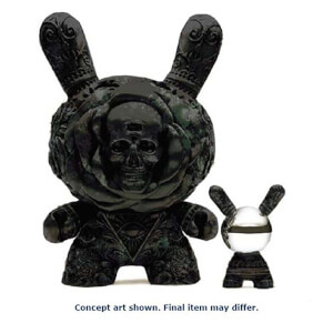 Kidrobot Arcane Divination The Clairvoyant 20 Inch Black Dunny Figure