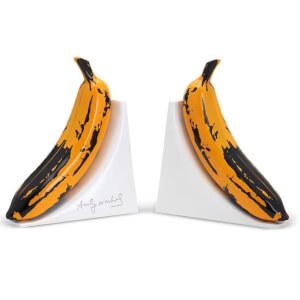 Kidrobot Resin Banana Bookends by Andy Warhol
