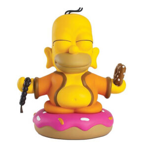 Kidrobot The Simpsons Homer Buddha 3 Inch Vinyl Mini-Figure