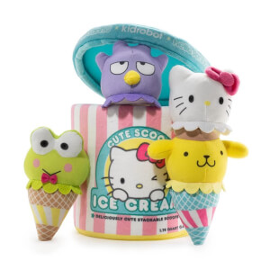 Kidrobot Sanrio Hello Kitty Ice Cream Scoops Medium Plush