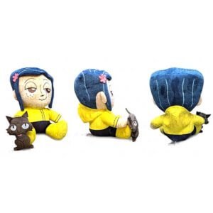 Kidrobot Coraline and the Cat Plush