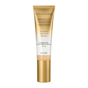 Max Factor Miracle Touch Second Skin 30ml (Various Shades)