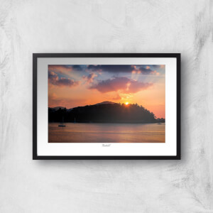 Conwy River Sunset Giclée Art Print