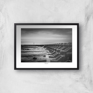 Seascape, New Brighton Giclée Art Print