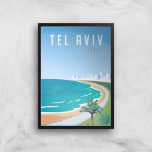 Visit... Tel Aviv Giclée Art Print