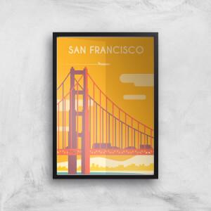 Visit... San Francisco Giclée Art Print