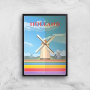 Visit... Holland Giclée Art Print