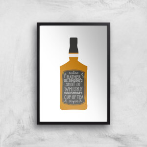 Shot Of Whiskey Giclée Art Print