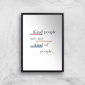 My Kind Of People Giclée Art Print
