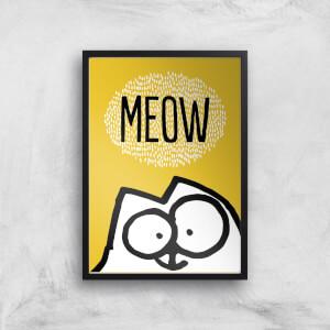 Simons Cat Giclée Art Print
