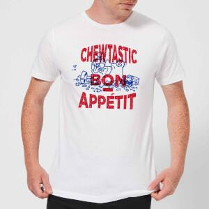 Simons Cat Chewtastic Bon Appetit Men's T-Shirt - White