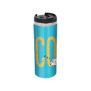 Simons Cat Coffee Stainless Steel Thermo Travel Mug