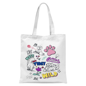 Simons Cat Cattitude Tote Bag - White