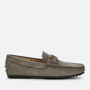 Tod's Men's T Leather Loafers - Seal