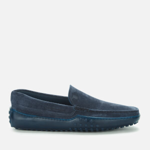 Tod's Men's Suede Slip-On Loafers - Blue