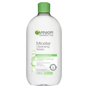 Garnier Micellar Water Purifying Facial Cleanser and Makeup Remover for Combination Skin 700ml