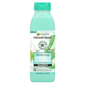 Garnier Ultimate Blends Moisturising Hair Food Aloe Vera Shampoo for Normal Hair 350ml