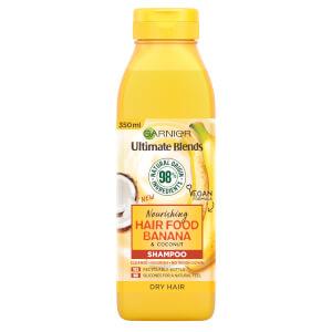 Garnier Ultimate Blends Nourishing Hair Food Banana Shampoo For Dry Hair 350ml