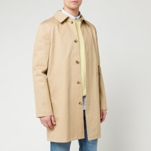A.P.C. Men's Mac Ville - Beige