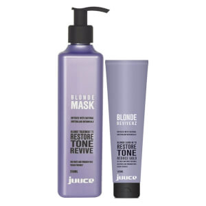 Juuce Blonde Hair Revivenz and Mask Duo