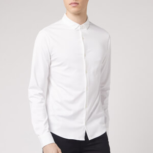 Emporio Armani Men's Long Sleeve Shirt - White