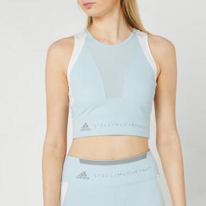 adidas by Stella McCartney Women's Running Crop Top - Steel Blue
