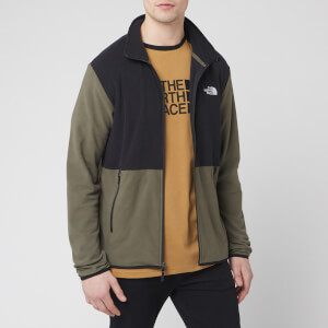 The North Face Men's Tka Glacier Full Zip Jacket - New Taupe Green