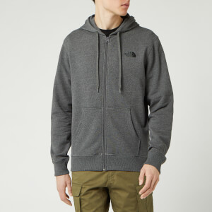 The North Face Men's Open Gate Fz Hoody - TNF Medium Grey Heather