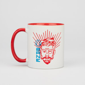 Borderlands 3 Zane Contrast Mug - White/Red