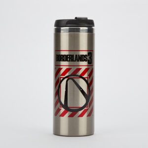Borderlands 3 Borderlands 3 Vault Stainless Steel Thermo Travel Mug - Metallic Finish