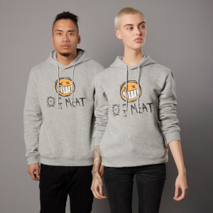 Sudadera capucha Borderlands 3 Eat Meat COV - Unisex - Gris